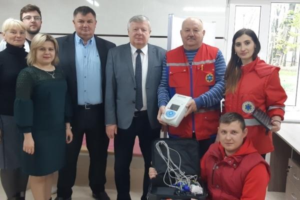 У амбулаторії загальної практики-сімейної медицини на Тернопільщині запрацює електрокардіограф