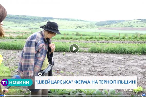 Швейцарка на Тернопільщині вирощує органічні продукти за особливим рецептом