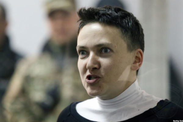 Савченко каже, що готова очолити Міноборони або МЗС
