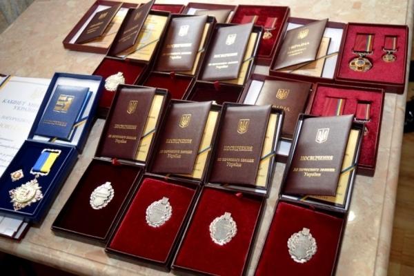 Жителів Тернопільщини нагороджено орденами та почесними званнями