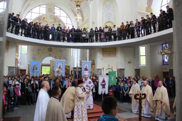 У Зарваниці відбулася ХVII Всеукраїнська проща католицьких шкіл (Фото)