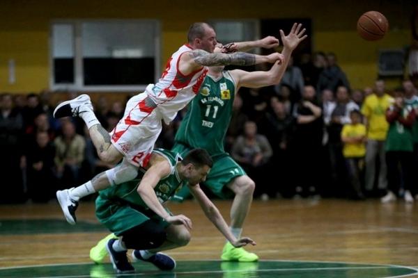 БК «Тернопіль» на виїзді поступився «Рівному» у першому матчі півфінальної серії (Фоторепортаж)