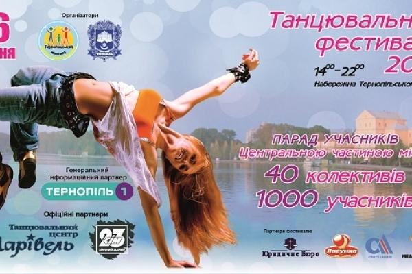 «Танцювальний фестиваль-2019» в Тернополі