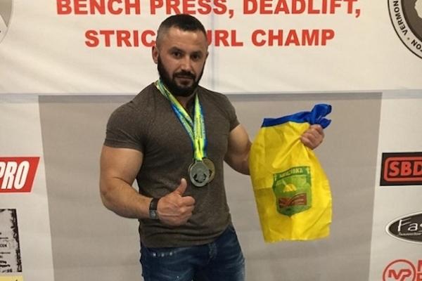 Спортсмен з Тернопільщини здобув золото на Чемпіонаті Світу з пауерліфтингу
