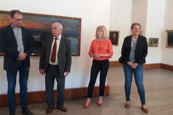 Тернопільський музей наповнився іноземним живописом