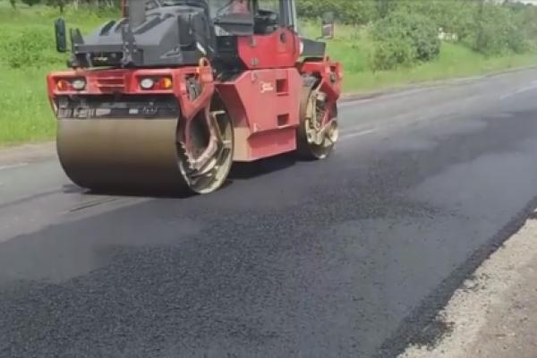 На Тернопільщині продовжують ремонт однієї з магістралей області