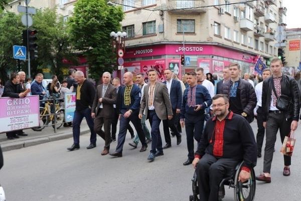У Тернополі відзначили День Героїв великою ходою