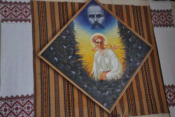Чому своє полотно художник Василь Стецько «одягнув» у ромбову рамку?