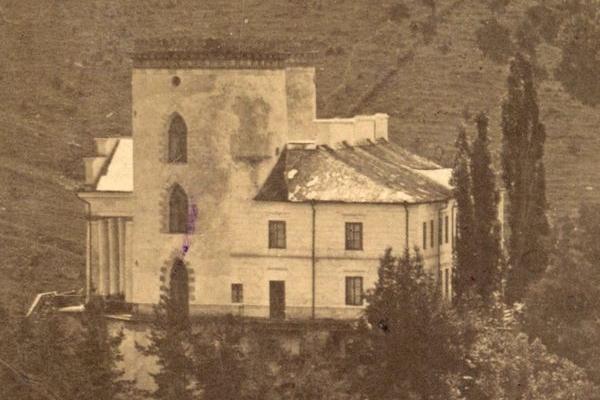 Червоногородський замок у 1875 році