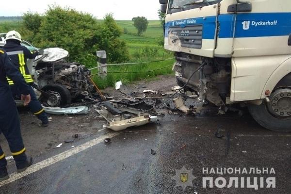 У Збаразькому районі в аварії загинуло троє чоловіків