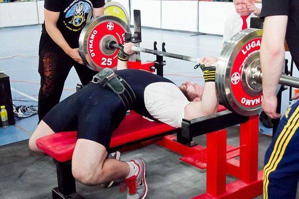 Тернополянин Євген Филима - віце-чемпіон світу з пауерліфтингу