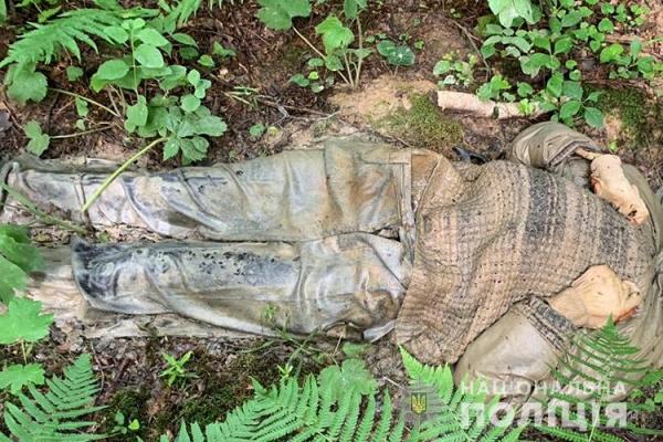 В Бучацькому районі грибник натрапив на труп чоловіка