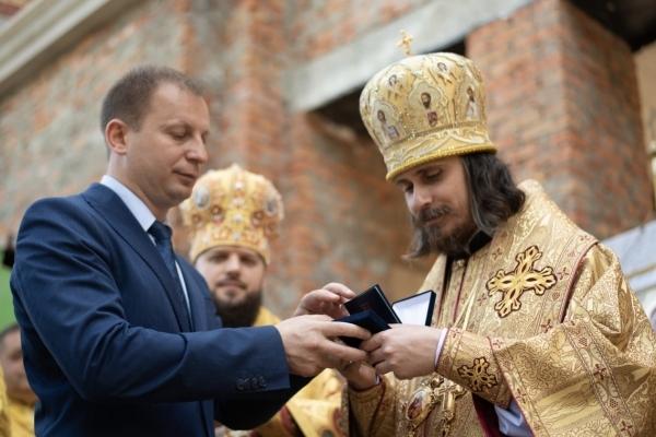 Архієпископу Тернопільському і Кременецькому Нестору вручили почесну відзнаку