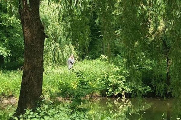 Тернопільським парком розгулює збочинець (Фото)
