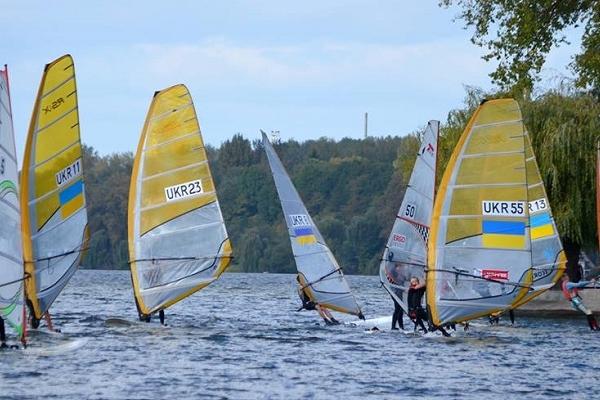 Чемпіонат України з вітрильного спорту - у вихідні на Тернопільському ставі