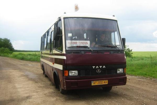 Маршрут автобуса Тернопіль – Коломия пролягає через «зону АТО»