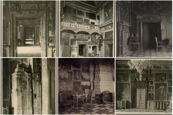 Унікальні фотографії залів Підгорецького замку минулого століття