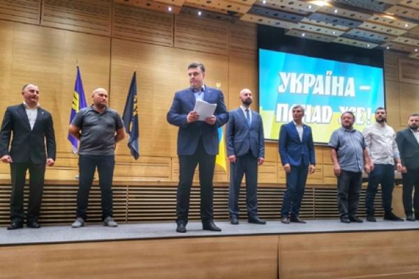 До першої двадцятки націоналістичного блоку увійшов тернополянин Василь Лабайчук