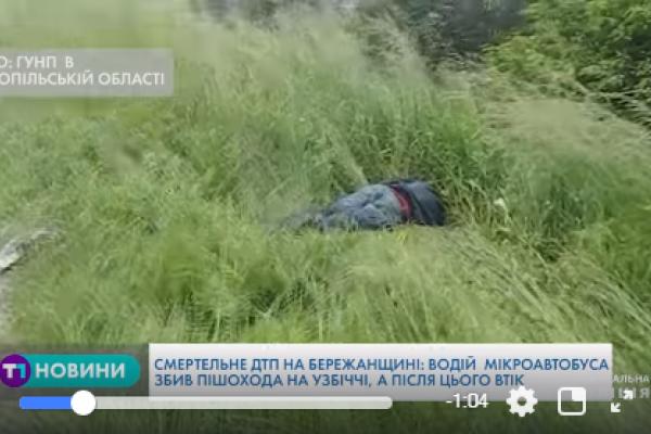 Збив чоловіка і втік: стали відомі деталі смертельної ДТП на Тернопільщині (Відео)