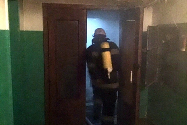 Евакуація людей: У Тернополі горіла багатоповерхівка