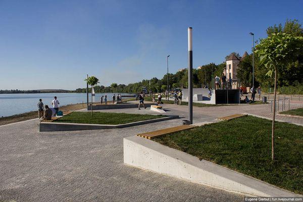 Тернопільський пляж «Циганка» отримав гран-прі престижного архітектурного конкурсу