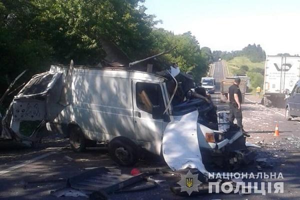 У Збаразькому районі в ДТП загинув водій