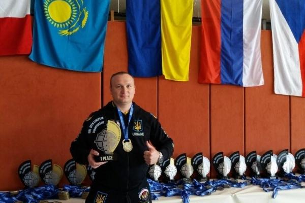 Гирьовик з Тернополя на Чемпіонаті Європи зробив неможливе
