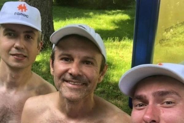 Святослав Вакарчук пробіг 5 кілометрів Тернопільського півмарафону