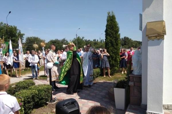У селі Тернопільського району відкрили нове місце для поклоніння (Фото)