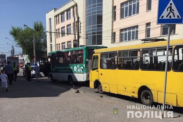 Поліцейські просять відгукнутися свідків ДТП на Шептицького у Тернополі