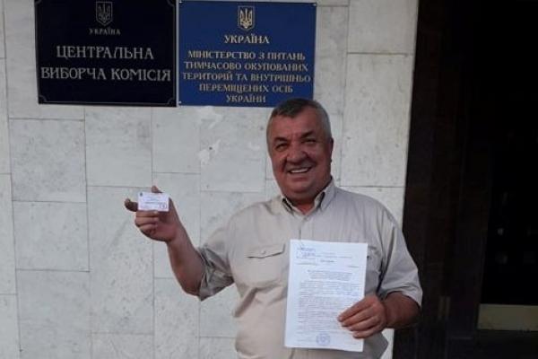 Лідер Селянської партії Зеновій Холоднюк йде в Раду по округу з центром у Теребовлі