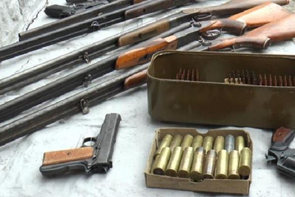 З помешкання жителя Бережанщини поліцейські вилучили 160 боєприпасів