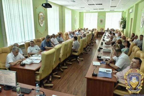 Відбулося планове засідання вченої ради ТНМУ