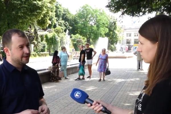 Максим Черкашин: «Партія «Голос» є досить молодою, що об'єднала багатьох фахових молодих людей»