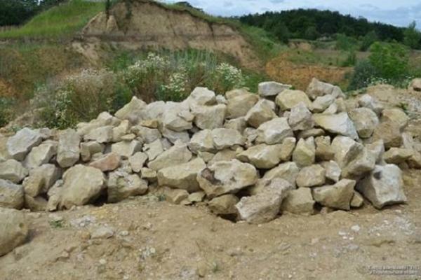 За видобування каменю без дозволів житель Бучацького раойну може «загриміти» за грати на кілька років