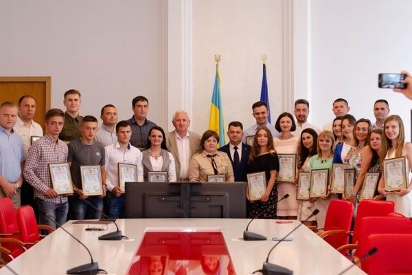 Нагороди для активної  молоді Тернополя (фото)