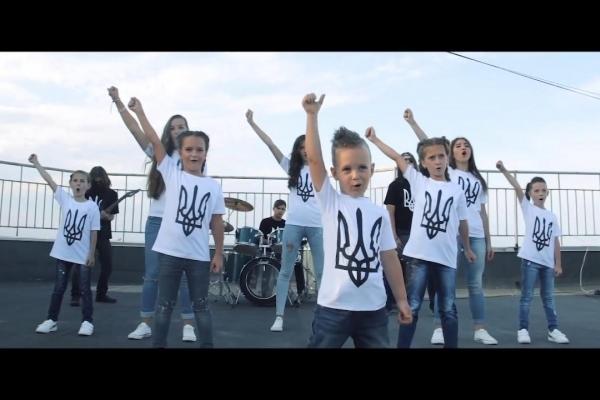 Рок-версія гімну від маленьких тернополян (відео)