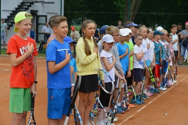 Тернопіль-спортивний: У місті відкрили тенісні корти та два футбольних поля