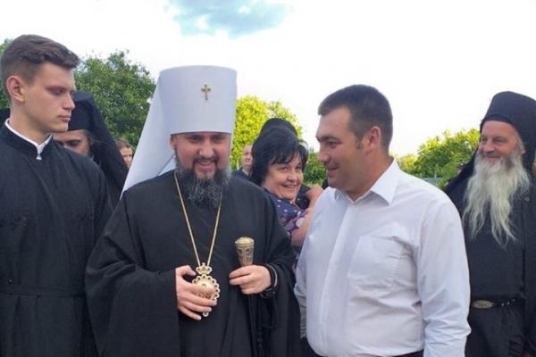 Кандидат по 165 округу Володимир Кісілевич отримав благословення від Митрополита Епіфанія