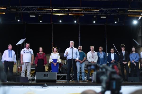 Петро Порошенко представив у Тернополі кандидатів від партії «Європейська солідарність»