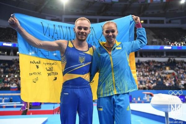 15-річна тернопільська гімнастка виборола золото на Європейських іграх-2019