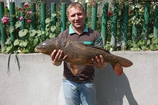 На Тернопільщині чоловік вупіймав рекордну рибину