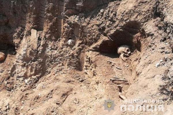 У Чорткові будівельники розкопали кладовище