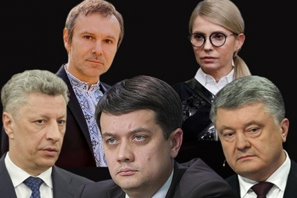 У нову Верховну Раду проходять 5 партій