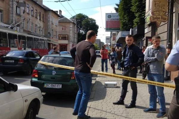 З'явилось відео затримання у Тернополі кавказців
