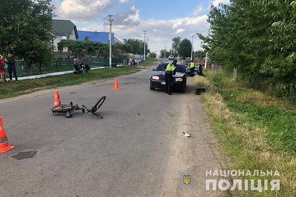 У Бучацькому районі 7-річний хлопчик потрапив під колеса авто