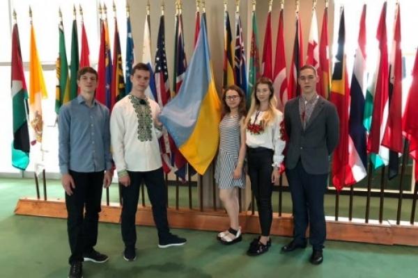 Тернопільські школярі перемогли на Олімпіаді геніїв у США (Фото)