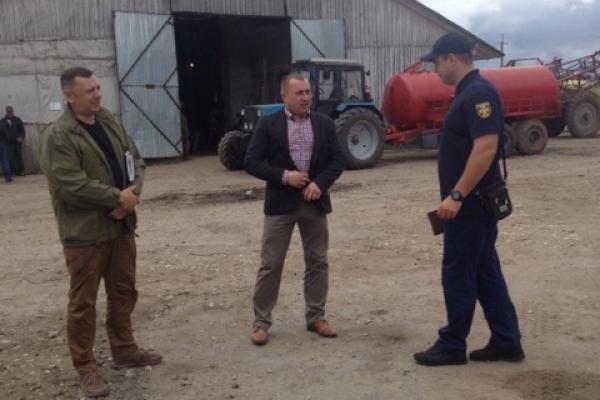 На Тернопільщині провели рейд сільськогосподарських підприємств
