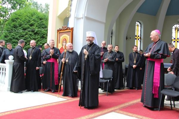 Відбулася традиціна зустріч Блаженнішого Святослава з молоддю в Зарваниці у рамках Загальнонаціонально прощі