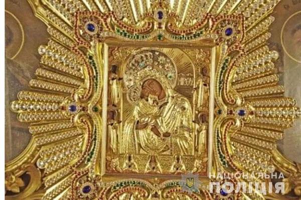 У Забаразькому районі з храму вкрали посріблену ікону